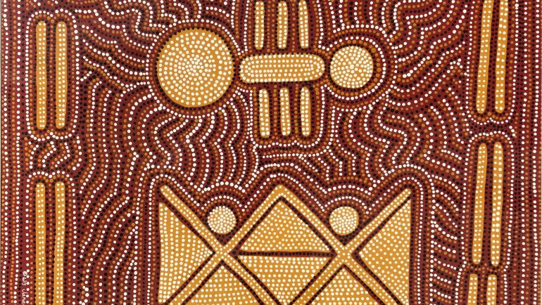 Artwork by Aunty Lauraine Barlow