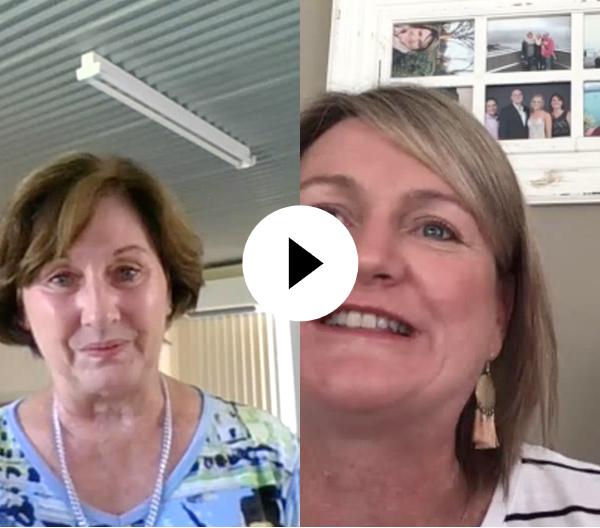 Robyn and Cindy BI Carer Chat